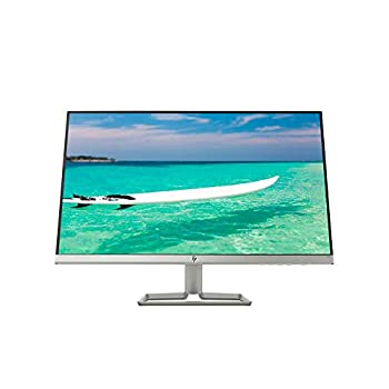 HP Newest 27  Widescreen IPS LED Full HD  1920 x 1080  Monitor 10,000,000 1 Contrast Ratio 5 ms Response Time FreeSync 2X HDMI and 1x VGA Input 178° View Angle 75Hz Refresh Rate Natural Silver