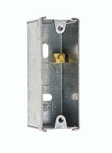 Einzeln Metall Architrav Vertieft Unterputzdose Knockout Rücken Box