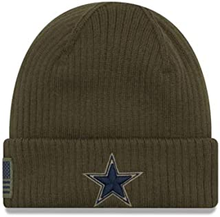 1a0ff162e3cf3 Dallas Cowboys New Era Salute to Service Knit Hat