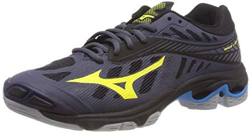 Mizuno Herren Shoe Wave Lightning Sneakers, Mehrfarbig (O Blue/Syellow/Hocean 001), 45 EU