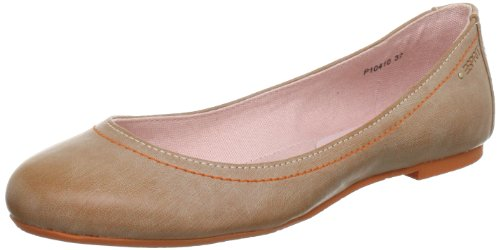ESPRIT Rina P10410, Damen Ballerinas, Beige (salmone 682), EU 39