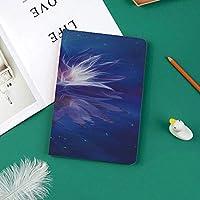 おしゃれな新しい ipad pro 11 2018 ケース スリムフィット シンプル 高級品質 手帳型 スエード柔らかな内側 スタンド機能 保護ケース オートスリープ 星の間の宇宙の蓮の花宇宙調和神秘的な神聖なグラフィック