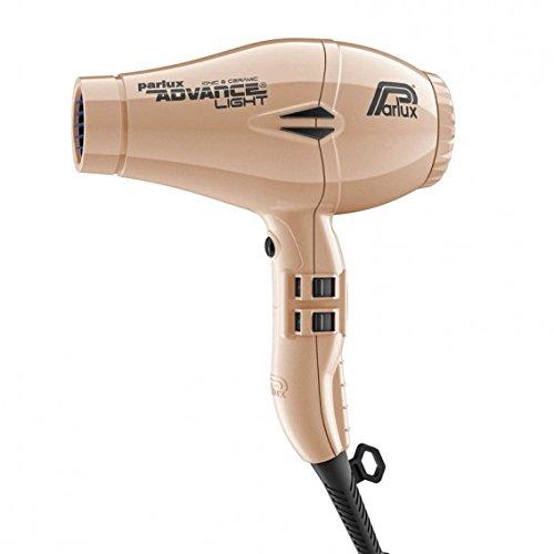 Parlux, Advance Light, Asciugacapelli professionale da salone, 2200 W, oro chiaro