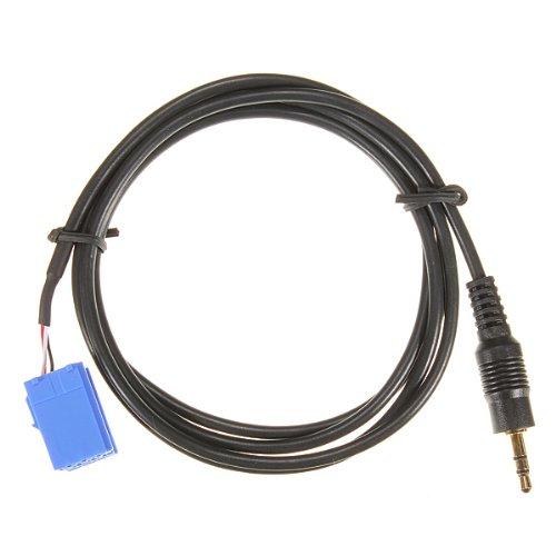 Cable aux - TOOGOO(R) Aux In Adaptador de entrada de cable de interfaz para Blaupunkt radio de coche iPod MP3 de enchufe de 3.5 mm
