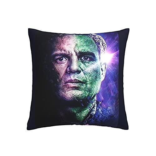 Hulk - Funda de almohada cuadrada para sofá, dormitorio, 45 x 226 cm