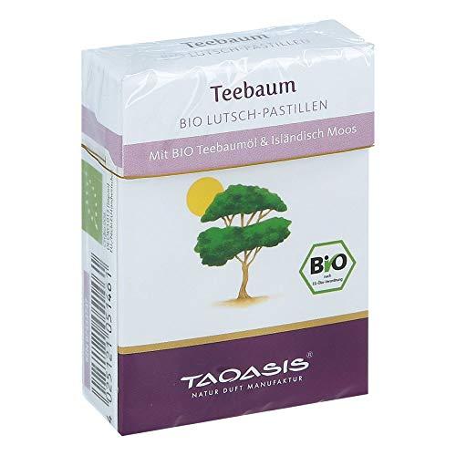 TAOASIS Teebaum Bio Lutsch-Pastillen, 30 g Pastillen
