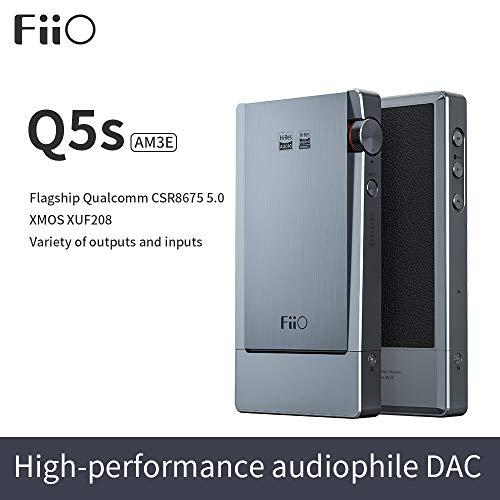 FiiO Q5s mobiler Kopfhörerverstärker mit D/A-Wandler und Bluetooth 5.0 - aptX LL, LDAC & HWA