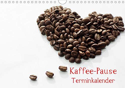Kaffee-Pause Terminkalender (Wandkalender 2021 DIN A4 quer)