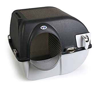 Omega Paw Elite Roll  n Clean Self Cleaning Litter Box Regular Size