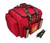 Lightning X Premium XL Step-In Turnout Gear Bag w/Shoulder Strap & Front Pockets - Red