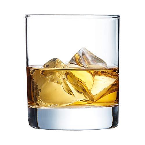Arcoroc J4239, Islande Vaso de Whisky 300ml, sin la Marca de Llenado,...