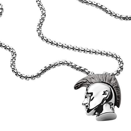 "Diesel Herren Halskette Anhänger ""Only the Brave"" Edelstahl, DX1253040"