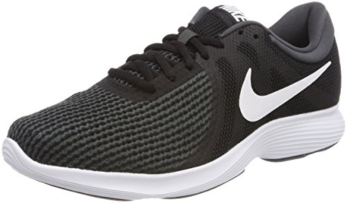 Nike Revolution 4, Zapatillas de Running para Mujer, Negro (Black/White-Anthracite 001), 36 EU