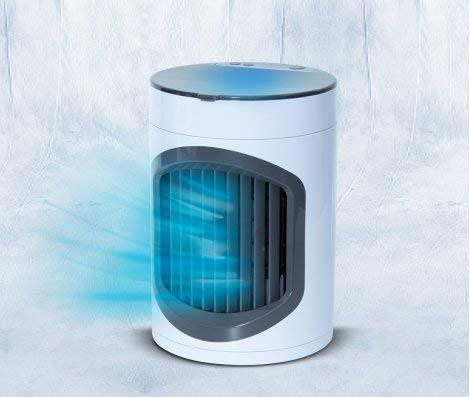 Livington SmartChill Summer-Edition – Klimagerät mit Wasserkühlung – Tragbares Klimagerät mit 3 Stufen – kraftvoller Mini Luftkühler mit Tankvolumen für 12h Kühlung - 4