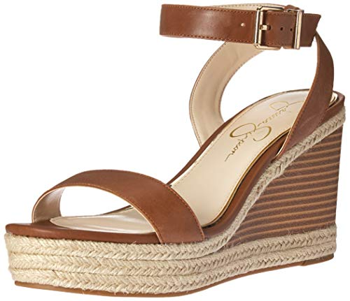 Jessica Simpson Women s MAYLRA Sandal, Brown (Purple Orange 210), 10 M US