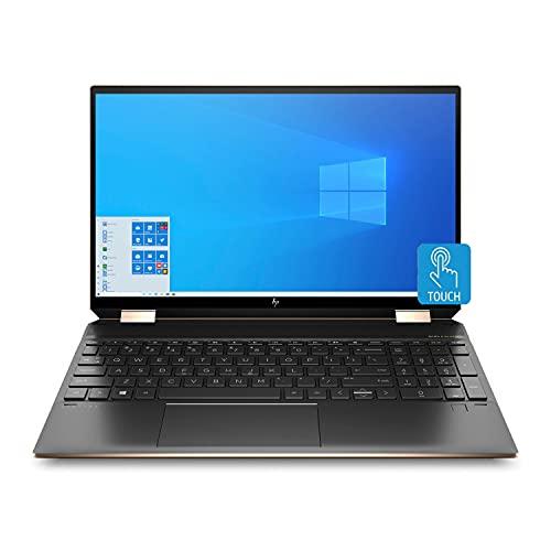 HP Spectre x360 Convertible 15.6-inch 4K UHD (3840 x 2160) Touch WLED Intel i7-1165G7 16GB 512GB SSD Win 10 Laptop (Renewed)