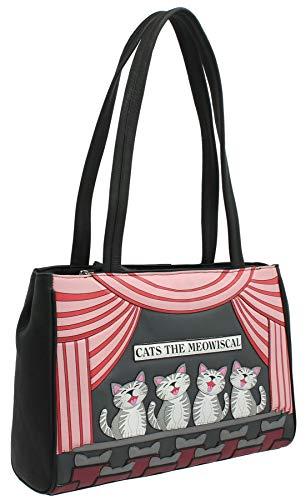 Mala Lederen Katten De Meowsical Collectie Lederen Schoudertas 7178_37