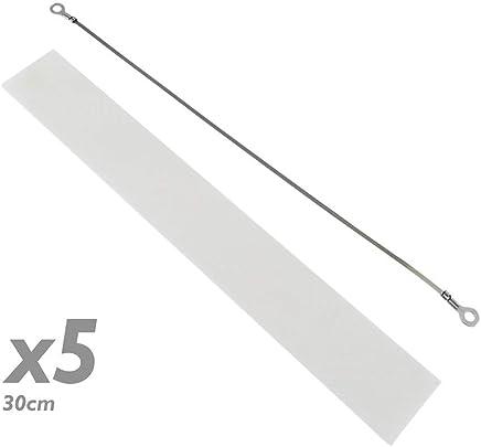 PrimeMatik - Resistenza Parti per termosaldatura 30 cm 5 Pack