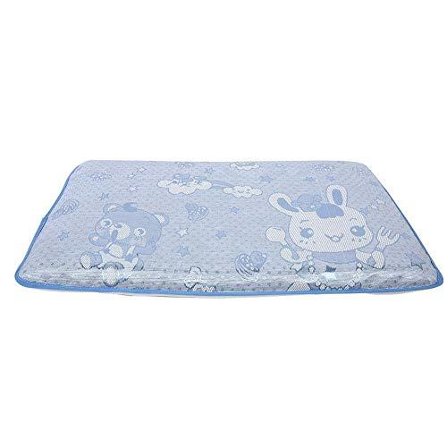 Almohada de espuma viscoelástica de alta calidad, almohada para dormir para niños, perforación centralizada, súper suave, agradable para la piel para niños de 2 a 3 años, niñas