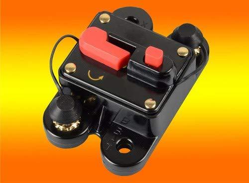 bau-tech Solarenergie 60A Batterie- Sicherung, Trennschalter, Sicherungs- Automat für 12V, 24V, 48V GmbH