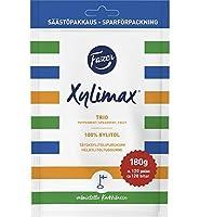 Fazer Xylimax ファッツェル キシリマックス トリオ キシリトール チューインガム 1 袋 x 130g フィンランドのチューインガムです [並行輸入品]