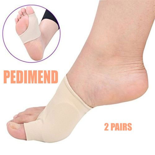 Pedimend™ Big Toe Foot Support - 4 Pieces | Bunion Pain Relief Cushion...