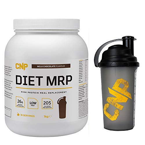 CNP Professional Diet MRP Meal Replacement Protein Whey - 1kg - Milk Chocolate with Shaker