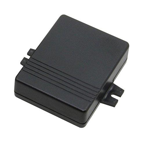 Modulgehäuse mit Befestigungslaschen & Kabel-Aussparung, 72x56x21mm, schwarz