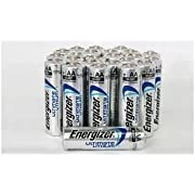 5 X Energizer Ultimate Lithium AA Size Batteries - 20 Pack