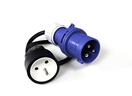 XL Perform Tool 552876 - Adaptador eléctrico para Toma de Camping