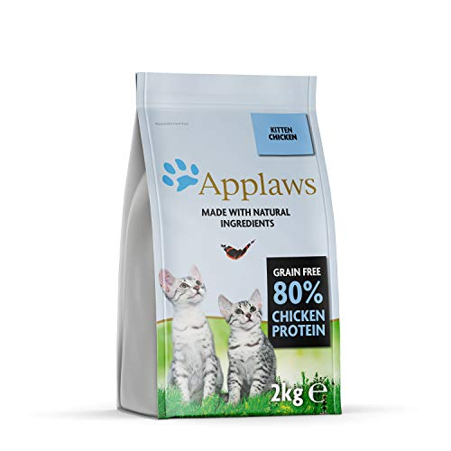 Applaws Comida seca para gatos, pollo/gatito, 2 kg