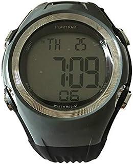 LINGJIA Frecuencia Cardíaca Relojes Fitness Tracker Monitor De Ritmo Cardíaco Deportes Relojes Polares Medidor De Sensor De Pulso Correr Ciclismo Correa para El Pecho Hombres Mujeres Reloj Deportivo