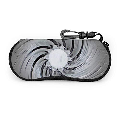 Murano Glass Art Glass Bowl Glass Art Shell Eyeglass Cases Mens Sunglasses Pouch Light Portable Neoprene Zipper Soft Case Slim Sunglass Case