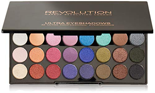 MAKEUP REVOLUTION 32 Eyeshadow Palette Mermaids Forever, 20 g
