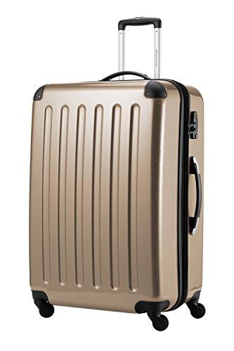 HAUPTSTADTKOFFER, Valigia Rigida Alex, TSA, Taglia 75 cm, 119 Litri, Colore Champagne
