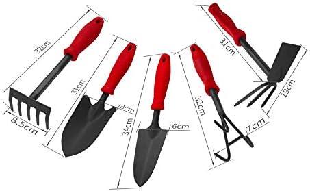 PDGJG Genuine Free Shipping Garden Tools Weeding Gardening Shovel Rake Larg Memphis Mall Five-Tooth