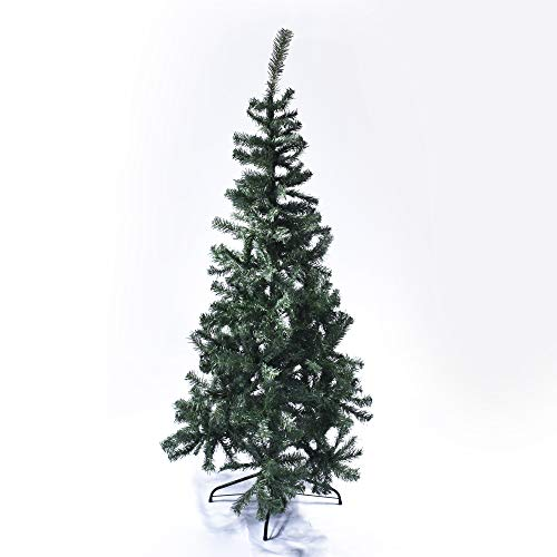 Star Christmas Albero Astana con 146 Rami, 120 cm, PVC, Verde
