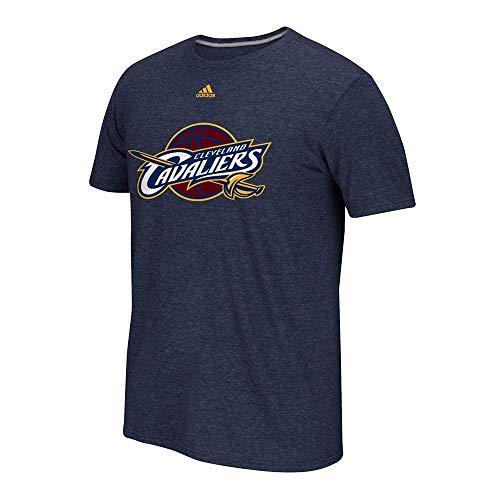 sdidas NBA Charcoal - Camiseta con logotipo preferido grande para hombre (talla...