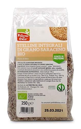 LA FINESTRA SUL CIELO Stelline Integrali di Grano Saraceno Bio - 250 g