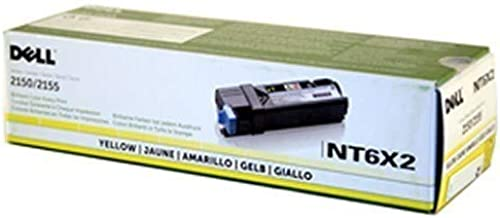 Dell NT6X2 2150 2155 Yellow Toner Cartridge (Yellow) in Retail Packaging