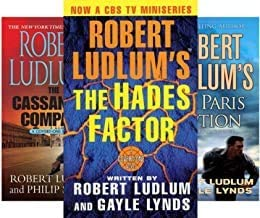 Robert Ludlum's Complete 12-book set COVERT-ONE series -- HADES FACTOR / CASSANDRA COMPACT / PARIS OPTION / ALTMAN CODE / ...
