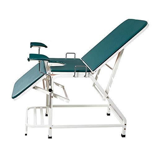 HBIAO Cama de Examen ginecológico, sillón de Examen ginecológico de Peso Ligero, Equipo de Sala de Examen Interno de obstetricia