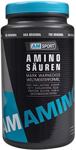 AMSPORT Aminosäuren 750g, neutrales EAA Pulver, das Original nach Weltmeister Mark Warnecke