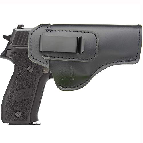 IWB Holster Leather Fits: Sig sauer P220 P226 Full Size - Inside Waistband Concealed Carry Pistols Holster -Right Hand Draw