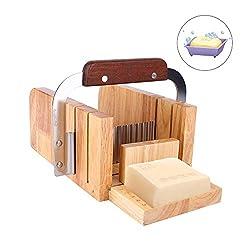 Matériau: L'ensemble de façonneurs de savon pour moule à savon est composé de bois de haute qualité et d'acier inoxydable. Meilleur artisanat et outil pratique pour votre idée d'artisanat. Fonction: Le kit de moules à savon permet la fabrication de l...