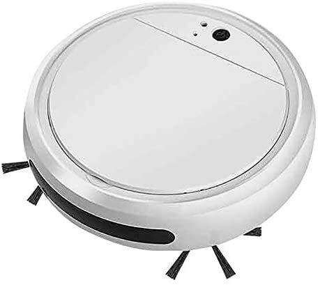QIBIN Aspiradora de piezas de barrido automático robot hogar portátil inteligente aspiradora UV función 4 en 1
