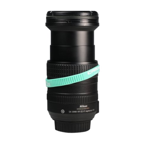 Cam Design High Fashion Soft Silicone Circlet-Band to Prevent Zoom Lens Creep by Applying Around Camera Lens' Focusing Ring 70-200 mm One Size fits All Lenses (3 Pieces, Teal)