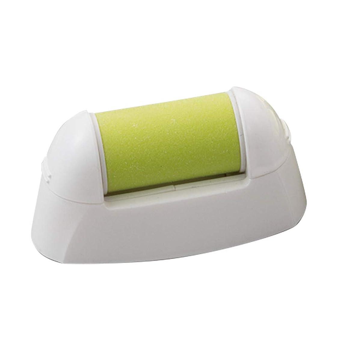 注ぎますパンチ香水マリン商事 電動爪削りLeaf 専用角質ローラー 替えローラー土台付き El-90141