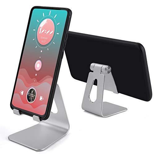 TXG Universal Soporte Celular, Soporte de Tablet Multiángulo, Base Tablet Compatible con Tablet/Teléfono Celular Inteligente, Base...