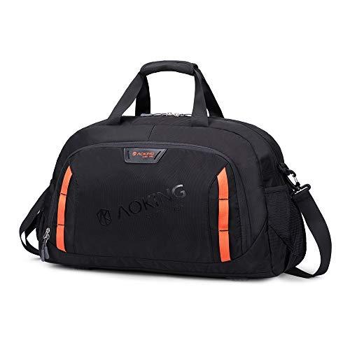 Boss Bag korte afstand Reizen Duffel Tassen Reizen Tassen Grote Capaciteit Draagbare Fitness Mannelijke Sporttas (Kleur: Zwart, Maat : XXL)